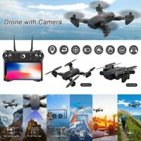 RC Drone with Camera WIFI FPV 4K 1080P HD Foldable Remote Control Quadcopter UK