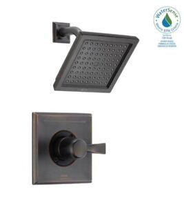 Delta T14251-RB-WE Dryden 1-Handle Shower Faucet Trim Kit in Venetian Bronze
