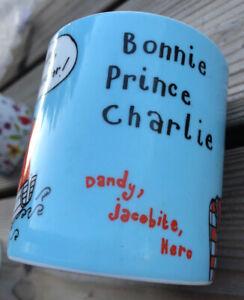 Bonnie Prince Charlie Mug Gillian Kyle Celebrating Local Heroes Past & Present