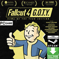 Fallout 4 Game Of The Year Edition (GOTY) PC (NO CD/DVD) Steam Game Fast Sent!