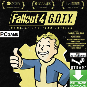 [1-HR DELIVERY!] Fallout 4 Game Of The Year Edition (GOTY) PC Steam Key FASTSENT