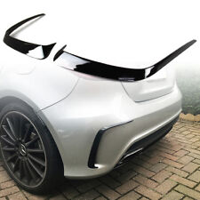 For Benz W176 A-Class A45 AMG Hatchback Rear Aero Flaps Cover 2 Pcs Paint Black