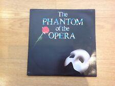 THE PHANTOM OF THE OPERA - 1987 Double Vinyl 33rpm LP