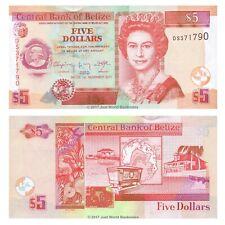 Belize 5 Dollars 2011 P-67e Banknotes UNC