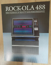 Rock-ola Rockola 488 Vinyl Jukebox Sales Brochure / Flyer / Pamphlet