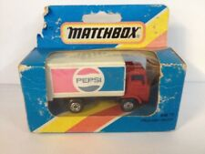 Matchbox Mb72 Pepsi Delivery Truck 1981