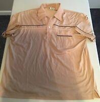 VTG Royale Air Men'S Pocket Short Sleeve Polo Shirt Size Large