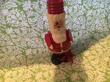 "Hand Painted Light Bulb Santa 8"""