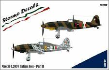 STORMO! DECALS - MACCHI C.205V ITALIAN ACES - PART II - 1/48 - 48009