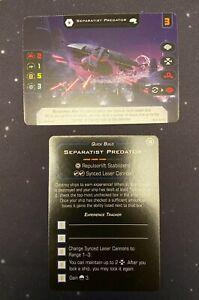 2x Separatist Predator full art 2020 G20XB X-Wing Miniatures Game Star Wars