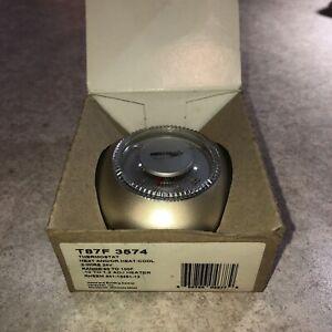 Honeywell T87F 3574 Vintage Mercury Thermostat Gold NO SUBBASE