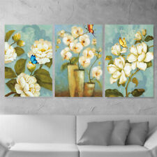 Canvas Flowers Print Poster Living Room Picture Wall Hanging Home Decor Unframed