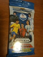 Sealed 2018 Panini Prizm World Cup Soccer Trading Cards - 1 Fat Pack! 15 ct