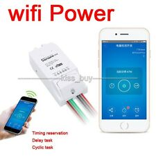 Sonoff WiFi Wireless Smart Home Switch Power Current Test for Apple Android app