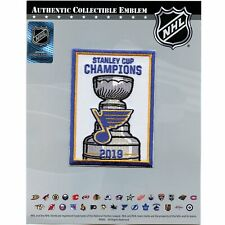 2019 NHL Stanley Cup Final Champions Banner St Louis Blues Team Exclusive Jersey