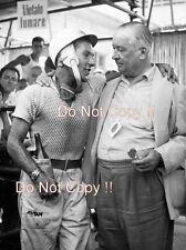Stirling Moss Vanwall Winner Pescara Grand Prix 1957 Photograph 3