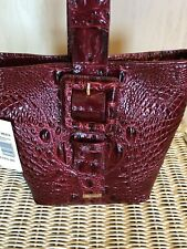 NWT BRAHMIN FAITH TOTE CROSSBODY CRANBERRY MELBOURNE RED $265