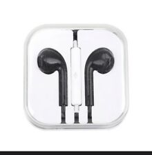 Audifonos Compatible Para Iphone O Androide Black Color With Call Functions NIB