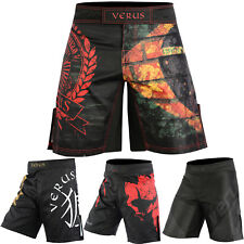 Verus Mma Grappling Shorts Kick Boxing Cage Fight Muay Thai Training Martial Art