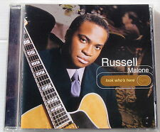 RUSSELL MALONE . LOOK WHO'S HERE . CD