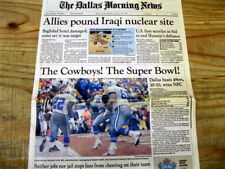BEST 1993 newspaper DALLAS COWBOYS win NFL Division Championship GoTo SUPER BOWL