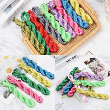 Nylon Cords Pacifier Clip Teething Necklace Make Ropes Satin Jewelry Thread DIY