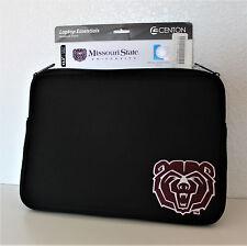 Missouri State University 14 inch Neoprene Laptop Sleeve 'Bear Head' MSU Logo