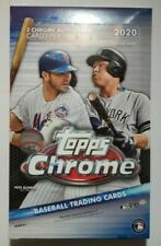 Topps 2020 Chrome Baseball Hobby Box Card