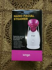 KINGA Nano Ionic Facial Steamer Home Facial SPA Facial Skin Moisturizing Tool