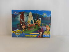 Disney Peter Pan Pirates Heroes Indian Chief Camp Poseable Figures Play Set  NEW