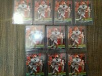 2021 LEAF TREVOR LAWRENCE XRC #16 ROOKIE CARD i Card 10 CT Lot IN HAND