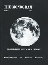 Booklet - General Electric - Boeing SST Apollo Moon - Monogram 1968 (ST13)