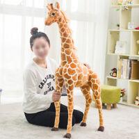60CM Plush Giraffe Doll Giants Large Stuffed Animals Soft Kids Best Toys Gift