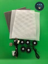 Universal car seat ventilation system,1 seat,new 3-level switch,seat cooler