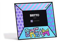 ✿ ROMERO BRITTO ✿ 4 x 6 GLASS PHOTO FRAME: DREAM  ** NEW **