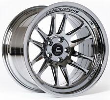 "Cosmis Racing XT-206R Black Chrome Wheel 18x9.5"" ET10 5x114.3 (per wheel) JDM,"