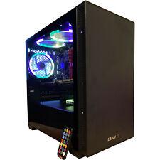 8-Core Gaming Desktop PC Computer SSD 16GB 2TB GeForce GTX 1060 HDMI RGB Fast