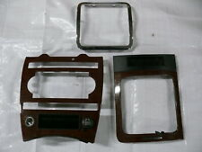 JEEP GRAND CHEROKEE III WH 3.0 rivestimento Mascherina CONSOLE CENTRALE decoro di legno r33