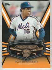 2011 Topps Rookie Of The Year Pin Dwight Gooden