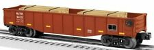 Lionel NJ TRANSIT Gondola #9412 with Wood Ties # 6-26696