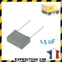 CONDENSATEUR MKP X2 1.5MF 1.5uF 1.5µF 275V 22,5mm