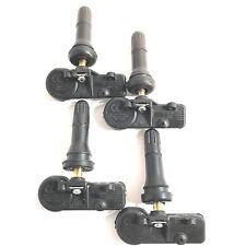 Set of 4 Mopar 56029398AB TPMS Tire Air Pressure Sensors 68142397AA  68241067AA