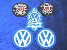 + VW  Aufnäher / Patch / Sticker 5 Stück im Set  VW, Spezialist, WOB Edition