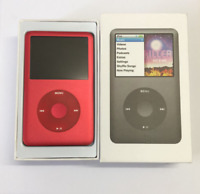 New Apple iPod Classic 7th Generation Red (80G/120G/160G/256G/512G/1TB) sealed