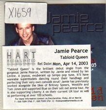 (CQ657) Jamie Pearce, Tabloid Queen - 2003 DJ CD