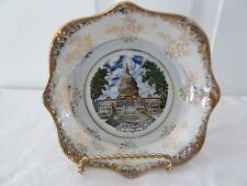 "Vintage Capsco The Capitol Washington D.C. 7"" Souvenior Dish Bowl"