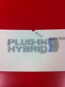 2012-2015 Prius Plug-In Rear Bumper Applique (PT747-47121)