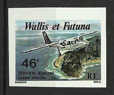 Wallis et Futuna Aviation Avion Plane Flugzeuge Non Dentele Imperf Essay ** 1979