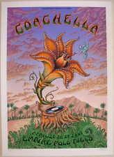 2007 Coachella - Silkscreen Concert Poster by Emek S/N