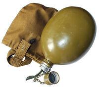 SOVIET/RUSSIAN ARMY WATER/VODKA/ FLASK/BOTTLE/BELT/CASE